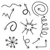 Arrows icon set. Stock Photo