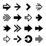 Arrows Icon Set. Vector Royalty Free Stock Image