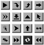 Arrows icons. Stock Photos