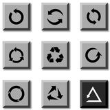 Arrows icons. Royalty Free Stock Photography