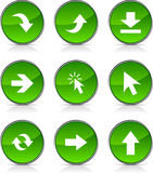 Arrows  icons. Stock Photography