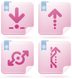 Arrows Icons Stock Photo