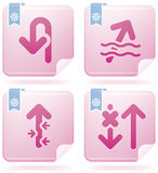 Arrows Icons Royalty Free Stock Images