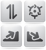 Arrows Icons Royalty Free Stock Photos