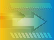 Arrows illustration Stock Photo