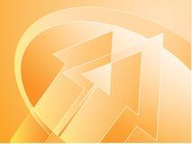 Arrows illustration Stock Image