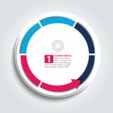 Arrows infographic template, diagram, graph, presentation, chart, scheme. Stock Photo