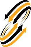 Arrows logo Stock Photo