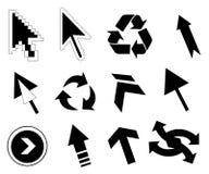 arrows lots απεικόνιση αποθεμάτων