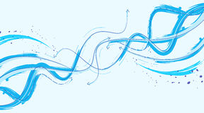 Arrows in motion abstract background. Abstract background in blue colors with unique conception and perfect quality design vector illustration