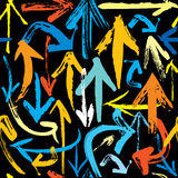 Arrows pattern Stock Photo