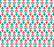 Arrows pattern Royalty Free Stock Images
