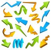 Arrows set Stock Photo