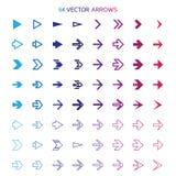 arrows set, undo and previous buttons. Vector Stock Image