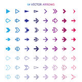 arrows set, undo and previous buttons Stock Image