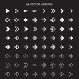 arrows set, undo and previous buttons Royalty Free Stock Images