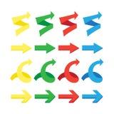 arrows set, undo and previous buttons Stock Photo