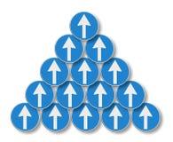 Arrows symbol Royalty Free Stock Image