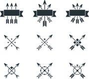Arrows symbols stock illustration