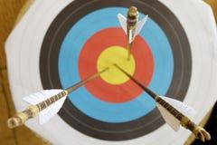 arrows target Стоковое Фото