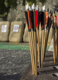 Arrows and targets Stock Image