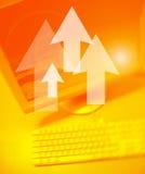 Arrows Team Works Stock Photos