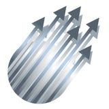 Arrows up Stock Photos
