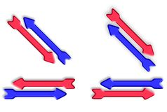 Arrows Up And Down Royalty Free Stock Photo