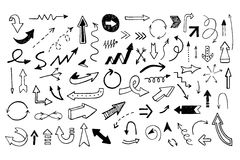 Arrows. Royalty Free Stock Images