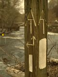 Appalachian Trail Sign royalty free stock photo