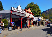 Arrowtown, ιστορικά κτήρια, Νέα Ζηλανδία Στοκ εικόνα με δικαίωμα ελεύθερης χρήσης