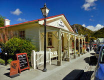 Arrowtown, ιστορικά κτήρια, Νέα Ζηλανδία Στοκ φωτογραφία με δικαίωμα ελεύθερης χρήσης