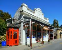 Arrowtown, ιστορικά κτήρια, Νέα Ζηλανδία Στοκ εικόνες με δικαίωμα ελεύθερης χρήσης