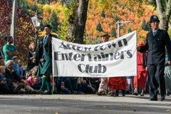 Arrowtown, Νέα Ζηλανδία - 23 Απριλίου 2016 φεστιβάλ φθινοπώρου Στοκ φωτογραφία με δικαίωμα ελεύθερης χρήσης