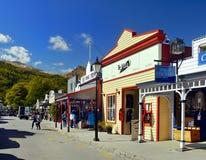 Arrowtown, περιοχή εξόρυξης χρυσού, Νέα Ζηλανδία Στοκ φωτογραφίες με δικαίωμα ελεύθερης χρήσης
