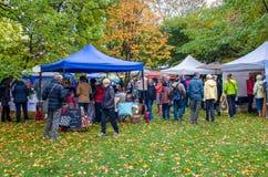 Arrowtown Autumn Festival au Nouvelle-Zélande Photo libre de droits