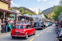 Arrowtown Autumn Festival na rua de Buckingham, Arrowtown Foto de Stock Royalty Free