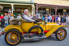 Arrowtown Autumn Festival na rua de Buckingham, Arrowtown Imagens de Stock Royalty Free