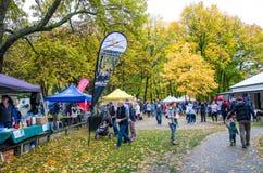 Arrowtown Autumn Festival in Nieuw Zeeland Royalty-vrije Stock Foto