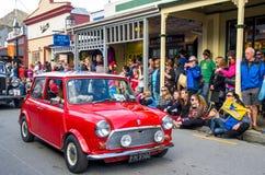 Arrowtown Autumn Festival op Buckingham-Straat, Nieuw Zeeland Stock Fotografie