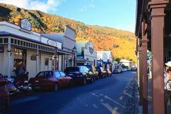 Arrowtown en la isla del sur Nueva Zelanda Fotos de archivo