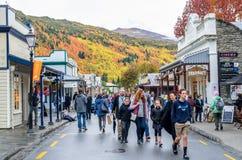 Arrowtown jesieni festiwal na Buckingham ulicie Obrazy Royalty Free