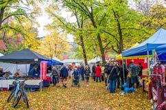Arrowtown jesieni festiwal w Nowa Zelandia Obrazy Stock