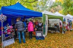 Arrowtown jesieni festiwal w Nowa Zelandia Obrazy Royalty Free