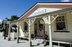 Arrowtown - New Zealand. ARROWTOWN,NZ - JAN 17:Arrowtown Post Office on Jan 17 2014.It's a popular travel destination with well preserved buildings used by royalty free stock photography