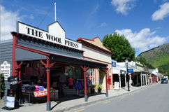 Arrowtown - Nova Zelândia fotos de stock