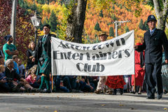 Arrowtown Nowa Zelandia, jesień, - Kwietnia 23, 2016 festiwal Fotografia Royalty Free