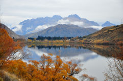 Arrowtown, Nueva Zelandia Imágenes de archivo libres de regalías