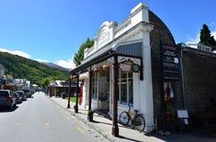 Arrowtown - Nya Zeeland arkivbild