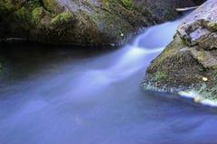 Canal inclinado del arroyo de Williams Imagenes de archivo